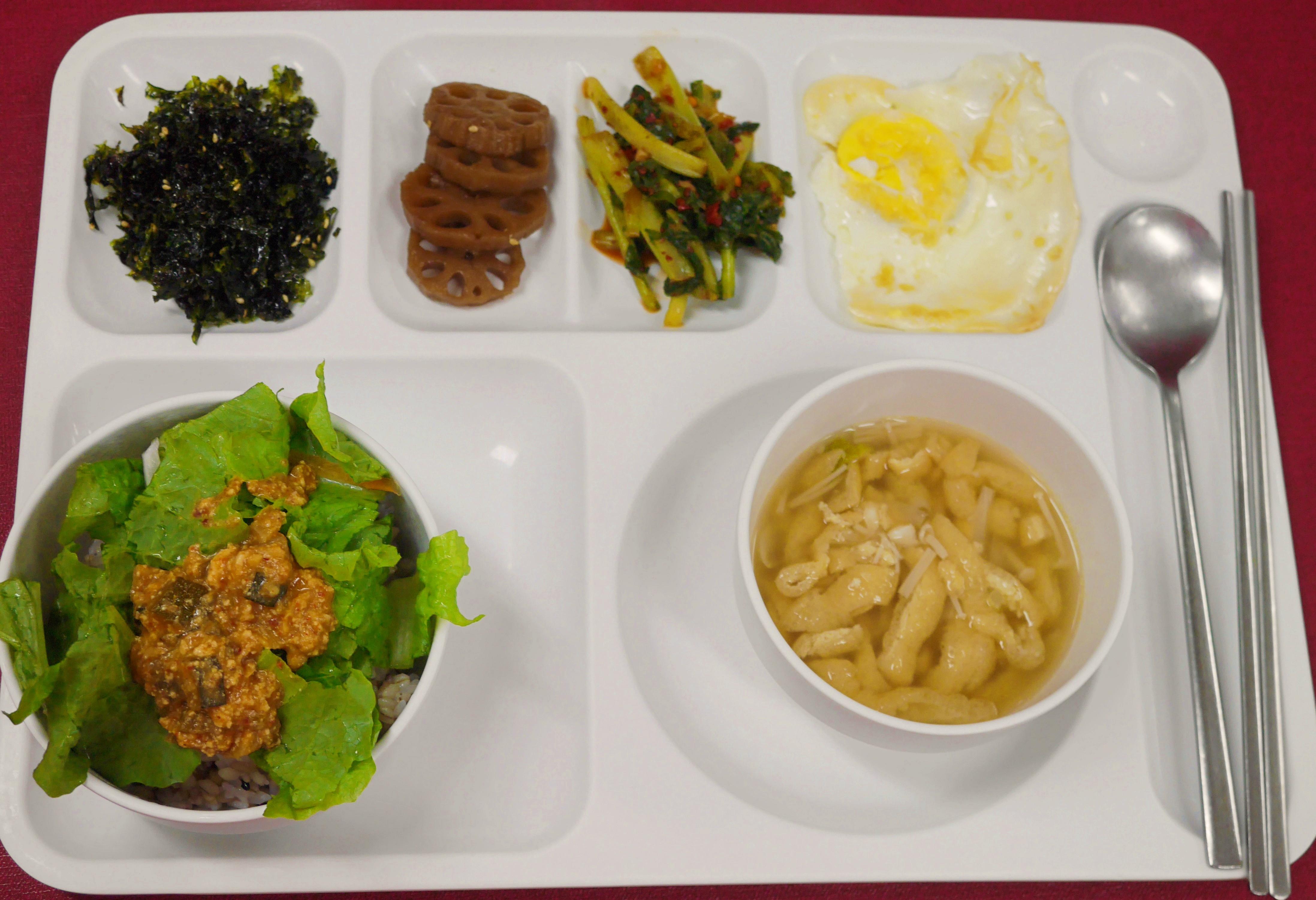 주야간보호센터 7월 점심식사 입니다.